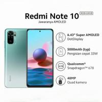 Redmi note 10 4/64 garansi resmi