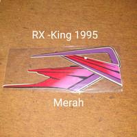 RX-king 1995 merah Motor Honda List Striping Sticker Stiker
