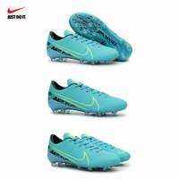 Sepatu Bola Nike Mercurial Sol Bening Import - Hitam Lis Gold, 39