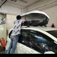 rack bagasi atas mobil model box+ cross bar jepit body