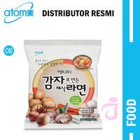 KOREAN POTATO RAMEN 114 gr - Kuah pedas bahan 100% sayuran + kentang