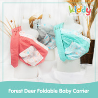 Kiddy Forest Deer Foldable Baby Carrier/ gendongan bayi 7206