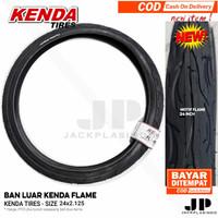 BAN LUAR 24 KENDA FLAME Sepeda merk KENDA TIRES - SIZE 24x2.125