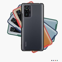 Case Redmi Note 10 | Note 10 Pro | Note 10S Frosted Anti Crack Casing