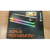 Gigabyte Aorus RGB DDR4 16GB (2x8GB) PC25600 3200MHZ Memory Ram PC