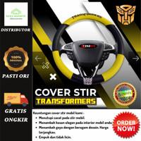 (ORIGINAL) COVER STIR TRANSFORMER Mobil WULING CONFERO Warna Kuning.