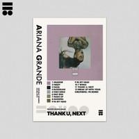 Poster Ariana Grande - thank u, next