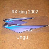 RX-king 2002 ungu Motor Honda List Striping Sticker Stiker
