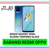 OPPO A54 4/128 NEW GARANSI RESMI OPPO - BLACK NON BONUS, 4GB 64GB