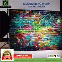Kain Backdrop Background Foto Studio Fotografi Unik 90 x 150 cm Wood