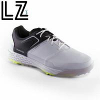 Original sepatu golf pria waterproof inesis - White and black