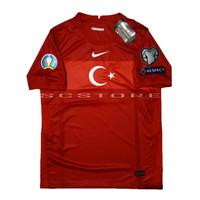Jersey Turki Away FULL PATCH Negara 2021 Baju Futsal Bola Grade Ori