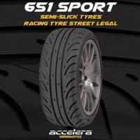 ban accelera 205/50R15 205/50/15 R15 R 15 651 sport semi slick tyre