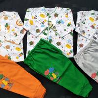 3 setelan panjang baju bayi baru lahir murah merk Tokusen costly ido