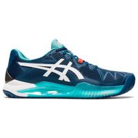Sepatu Tenis Original Asics Gel Resolution 8 Mako Blue White 137621318
