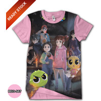 Kaos Shinbi House 3D Baju Kartun TV Animasi Anak #REG-567