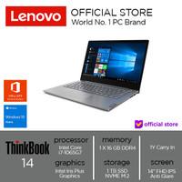 Lenovo ThinkBook 14 IIL Core i7-1065G7 16GB 1T SSD Win10 OHS