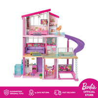 Barbie Dreamhouse with Wheelchair Accessible Elevator - Mainan Rumah