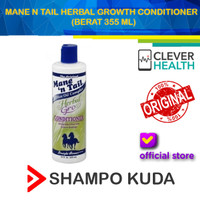 Mane N Tail Herbal Growth Conditioner 355 ML (Shampo Kuda)