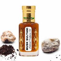 6ML Musk Sultani Perfume Oil (Parfume Attar Original By Beutari Living