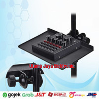 Dudukan Soundcard ALITER Tripod Sound Card Tray Clamp Holder NB11