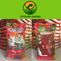 Pasir kucing Cubnkit 20kg / Pasir gumpal wangi premium