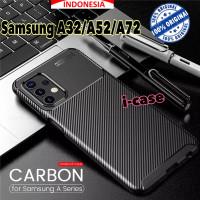 Samsung A32/A52/A72 Carbon Style Soft Case casing cover a72,a32,a52