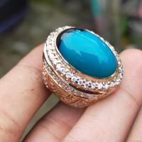 cincin batu bacan Doko super motif. 100% asli natural