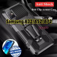 Case Samsung A32 / A52 / A72 Armor Belt Clip Pinggang Galaxy indonesia