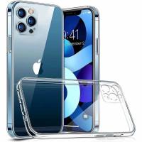 Casing Case Transparan Bening iphone 12 mini Pro Max softcase WB - iP 12 Pro Max