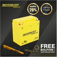Motobatt Gel Mtx9 - 9Ah - Garansi 6 Bulan, Free Kaos