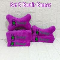 Bantal mobil set 3 Bordir BarneY