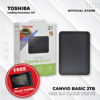 TOSHIBA CANVIO BASIC 2TB USB 3.0 HDD EXT