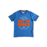 Osella Baju Anak Laki Laki Tshirt Stripe Out Ta Space Biru