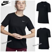 N*ke Woman Original Sport Tee Baju Kaos Olahraga Casual Wanita Cewek