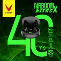 Vyatta Airboom Nitro X TWS Bluetooth Earphone -Gaming 40ms,16in1 Touch