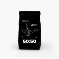Javaro Premium Blend 50 Arabika : 50 Robusta 250gr (Bean/Bubuk)
