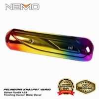 Pelindung Knalpot Vario old Pelangi / Rainbow