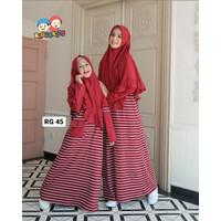 Baju Muslim Gamis Couple Ibu Anak Raggakids RG 45