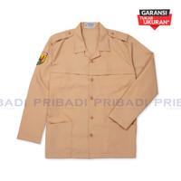 Baju Pramuka SD SMP Putri Lengan Panjang - Seragam Sekolah