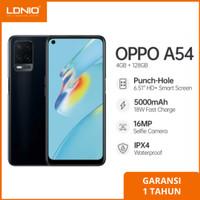 OPPO A54 [4/128]GB RAM 4GB Internal 128GB Garansi Resmi - Hitam