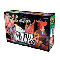 Dungeons & Dragons Dungeon Mayhem: Monster Madness Board Game