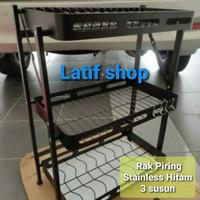 fiorentino Rak Piring gantung stainless / Rak stainless