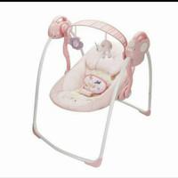 Swing Baby Elle Angel Ayunan Bayi Otomatis Tempat Tidur Ayun Bayi