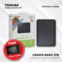 Toshiba Canvio Basic 2TB USB 3.0 - HD / HDD / HD External