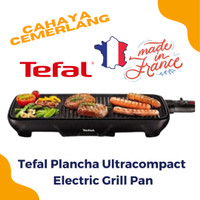 Tefal Plancha Ultracompact Electric Grill Pan made in france