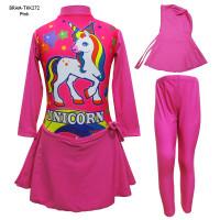 Baju Renang Anak Muslim Usia 4-7 Th Karakter Unicorn BRAM-TKK272