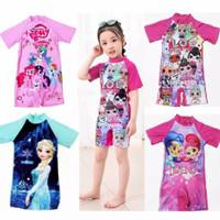 baju renang anak perempuan diving 0-5 tahun / baju renang anak