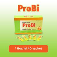 ProBi - Suplemen Probiotik Anak Rasa Milky Orange - 40 Sachet