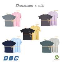 Cuit x Duraking Bundling Sport Wear Kids Basic Color Tee&Heiji Pocket - Black & Yellow, 8Th & S